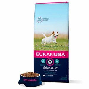 Eukanuba – Croquettes pour Chien Adulte Petite Race – Poulet – 15kg