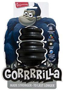 EUROPET Jouet pour Chien Gorrrrilla Classic Rubber Toy Large Black 13-30kg
