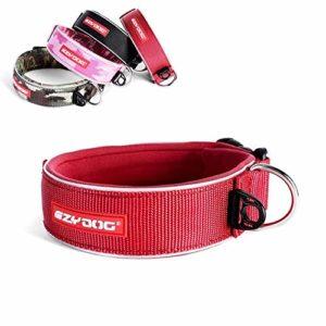 EzyDog Neo Collier pour chien – rouge (rouge) – L