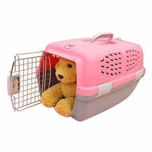 Fournitures pour animaux Pet Airways Box vérifié les cas de transport de bagages Cages pour chat / chien et autres animaux de compagnie (haut sans trous de ventilation de toit ouvrant) Petit, taille: