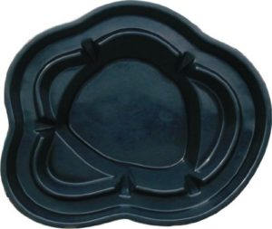 GFK teichschale stechlinsee noir