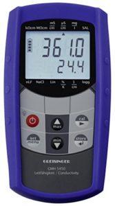 GHM Greisinger 611246Kit de conductivité Compteur, Bleu, 8,6x 16,0x 3,7cm