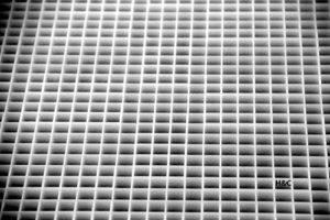 H&C Lumière Col de corail Plaque pour abeilles 618x 620mm Col de 13x 13mm