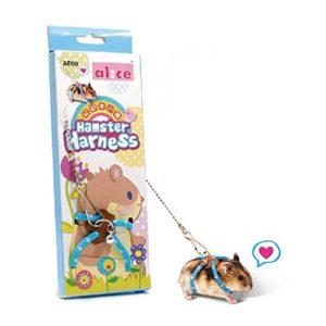 Harnais et laisse réglable pour hamster avec gilet , idéal pour rat hamster, gerbille, et chinchilas