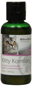 Hilton Herbs Kitty Komfort 50 ml Flacon Complément Alimentaire Chat Troubles Digestifs Ponctuels