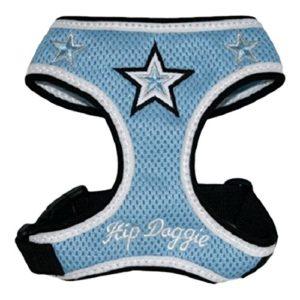 Hip Doggie HD-6BMST-XL Extra Large Super Star harnais gilet bleu