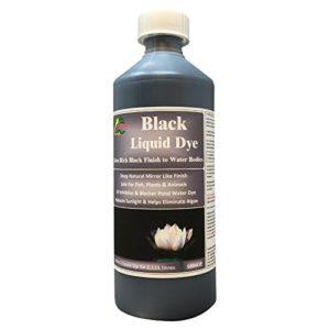 Hydra Noir Teinture Liquide 500ml Pond Dye hautement réfléchissant Finition miroir