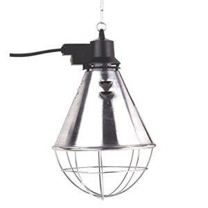Kerbl Protecteur de Lampe Chauffage avec Économiseur/Câble 5 m pour Etable