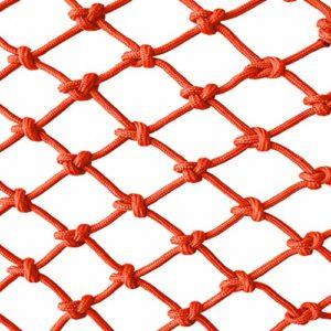 Orange enfant filet de protection filet de protection escalier balcon anti-chute net maternelle couleur réseau décoratif clôture réseau largeur 1 / 4M longueur 1M / 9M structure traditionnelle tressée
