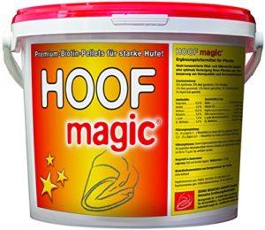 Pellets de biotine – Seau de 5 KG pour approximatif 200 jours – Hoof Magic premium compléments alimentaires