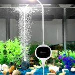 Pompe à air pour aquarium – Chialstar ultra-silencieuse pompe aquarium 3.5W et performant oxygène pompe de 10 à 200L