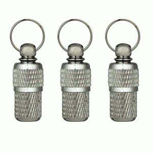 Porte-adresse Animaux ID tag 3 étiquette d'adresse en métal / Belle pendentif petit collier pour chats et chiens