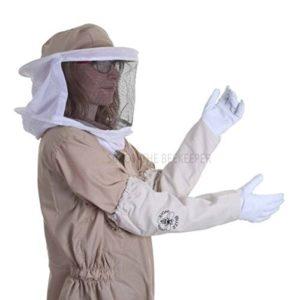 simonthebeekeeper Buzz de l'apiculture Voile Rond avec Combinaison et Gants–Kaki M Kaki