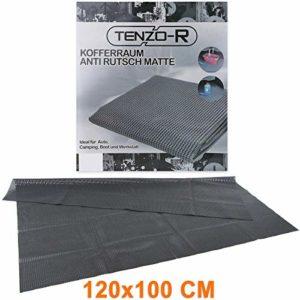 Tapis de coffre Flexible antidérapant Taille L 120x 100cm Noir