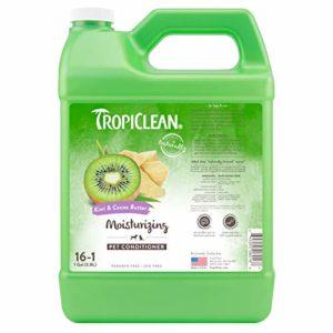 Tropiclean Apres-Shampooing Hydratant pour Chien Kiwi/Beurre de Cacao 3,78 L 16:1 1 Unité