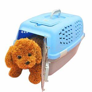 Vêtements pour animaux Pet Airways Box vérifié les cas de transport de bagages Cages pour chat / chien et autres animaux de compagnie (haut sans trous de ventilation de toit ouvrant) Petit, taille: 59