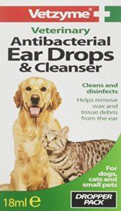 Vetzyme Antibacterial Ear Drops & Cleanser