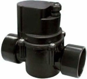 XCLEAR automatique 2voies Roue Robinet 63mm Noir 20.5 x 21 x 11 cm Noir