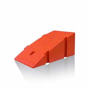 YAzNdom Rampe Pad Triangulaire Pédale De Patin De Pédale De Stationnement De Rampe Échelle De Caoutchouc Augmente Portique Tampon en Plastique Épaissi Rampe en Caoutchouc
