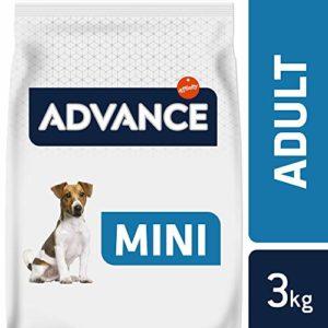 Advance Croquettes pour Chien Mini Adulte Poulet et Riz 3 kg