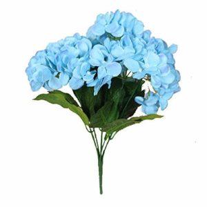 Amuster Lot de Bouquets de Roses artificielles Décoration de fête, d'intérieur, de Mariage