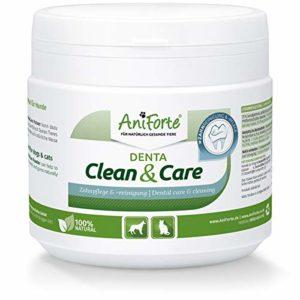 AniForte Denta Clean and Care 300 g Poudre pour Chiens, Chats et Animaux de Compagnie, Dents et Gencives Saines, Complément Alimentaire