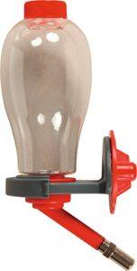 Biberon avec Remplissage Facile Rouge Cerise 250 ML (Remplissage par Le Dessus)