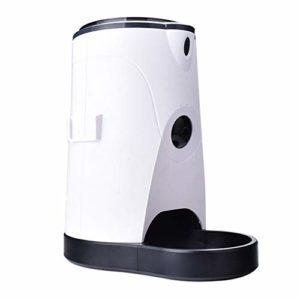 BYCWS Pet Feeder, Chargeur Automatique pour Animaux de Compagnie pour Chiens et Chats, ContrôLe Automatique des Portions et Enregistrement Vocal (4L)