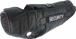 CANIHUNT Gilet Chien Defender Security de Protection de Type 4 à la Perforation avec Option kit Pare Balle (90)