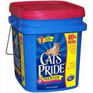 CAT'S PRIDE LITTER Litière de chat Pride 317030Pride Seau de Scoop pour animaux domestiques, 10kilogram