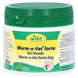 cdVet produits naturels Ver v-o Vet forte chien 150g