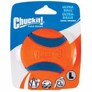 Chuckit Ultra Ball Jouet pour chien, Taille L