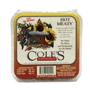 Coles Oiseaux Sauvages Products Hmsu 333,1Gram Hot viandes de suif–quantité 12par Coles Oiseaux Sauvages Products