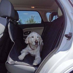 Couverture pour chien recommandé pour banquette arrière voiture pour Nissan Qashqai II–imperméable, 146x 123cm