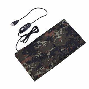 Cuttey Tapis Chauffant en Fibre de Carbone USB pour Animaux domestiques, avec Interrupteur, Medium