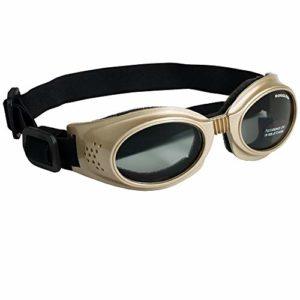 Doggles Originalz Small Chrome Frame / Smoke Lenses – DGORSM16