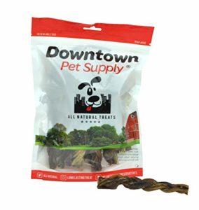 Downtown Pet Supply Tressé Bully Stick – 100 % Naturel (5″(Pack De 3))