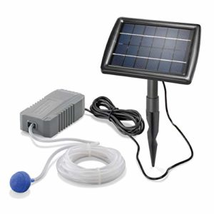 Esotec Pro 101840 Ventilateur solaire pour bassin 2 W 130 l/h