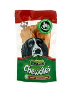 Foldhill Chewdle Chips Fluoride Dog Treats x 5