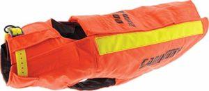 Gilet de protection orange taille 75 cm (tour de poitrail) pour chien de chasse (voir les détails pour les tailles)