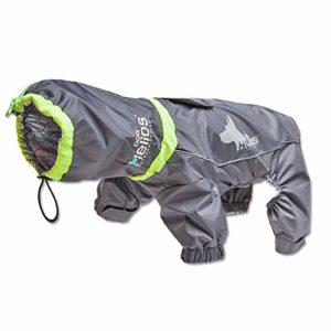 Imperméable pour animaux de compagnie Big Vêtements for chien Vêtements for animaux Veste imperméable chaud extérieur Poncho Pet Supplies Vêtements for chien 3 couleurs for animaux de compagnie Mesure