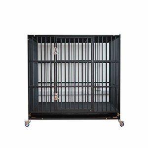 JKHOIUH Dog Cage Pet Kennel Dog House Lit pour chien Chien de taille moyenne Canapé de style canapé Lit pour chien Top pour animaux de compagnie Lits Deluxe pour animaux de compagnie Idéal pour les ca