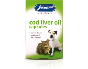 JVP Dog & Cat Cod Liver Oil 170 Capsules x 3