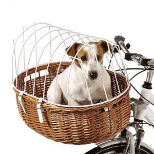 Panier de vélo pour les chiens et les animaux de compagnie lourd Fil Garantie de sécurité pour votre animal capable d'emporter des jusqu'à 12kg 52x 38x 39cm (L x l x H)