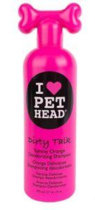 Pet Head Chien Shampooing Désodorisant Dirty Talk Parfum orange 475 ml