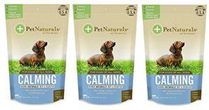 Pet Naturals® of Vermont–apaisant pour Chiens, Prise en Charge du comportement Naturel Formule, 30Dégustés à mastiquer, 3-Pack