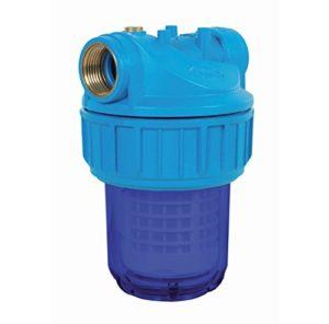 Ribiland 05420 – Filtre à Eau 5 Pouces – Corps Anti UV – Bleu