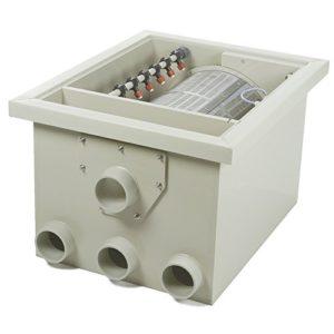 Sommerendspurt DVS-PP35 Filtre à Tambour + 1 Filtre supplémentaire de Sortie 55 W + 1 kit de raccordement