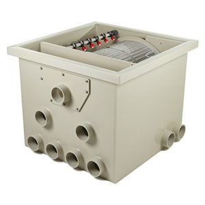 Tambour Filtre pp65Max. 65m³ L/H Débit avec couvercle