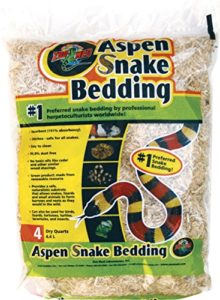 Zoo Med Laboratories Inc-Aspen Parure de lit Serpent Naturel 4 l